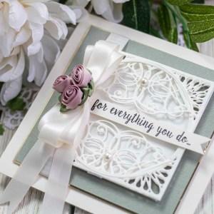 Spellbinders March 2020 Amazing Paper Grace Die of the Month is Here – Elegant Infinity #Spellbinders #AmazingPaperGraceClubKit #SpellbindersClubKits #NeverStopMaking