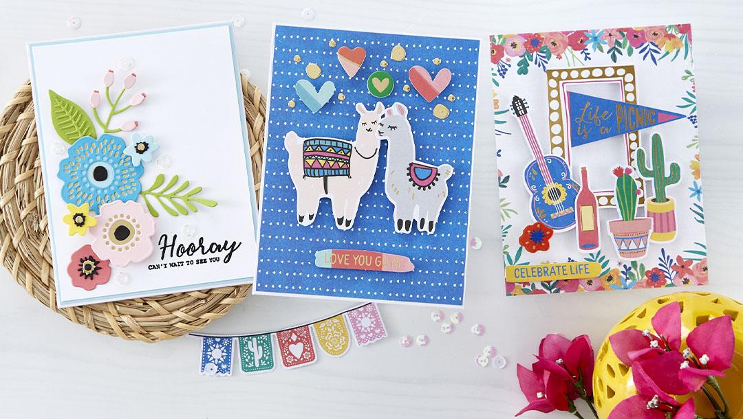 Spellbinders June 2020 Card Kit of the Month is Here – Life is a Party #Spellbinders #NeverStopMaking #CardKit #Cardmaking