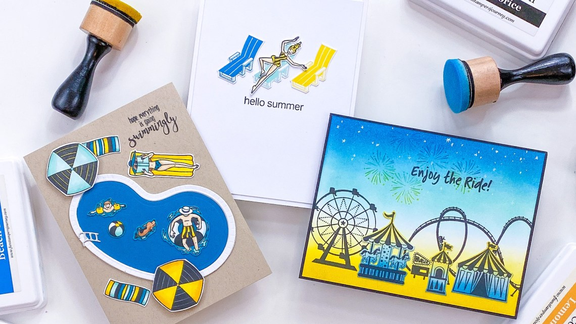 The Happy Place Project Kit | Cardmaking Inspiration with Channin Pelletier | Video tutorial #Spellbinders #NeverStopMaking #Cardmaking