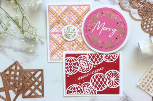 The Warm Holiday Wishes Project Kit by Spellbinders | Cardmaking Inspiration with Amanda Korotkova | Video Tutorial #Spellbinders #NeverStopMaking #DieCutting #Cardmaking #ChristmasCardmaking