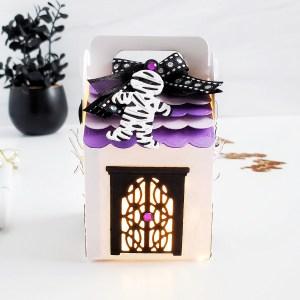 Spellbinders Halloween Collection by Becca Feeken | Inspiration with Yasmin Dias #Spellbinders #NeverStopMaking #AmazingPaperGrace #DieCutting #Halloween