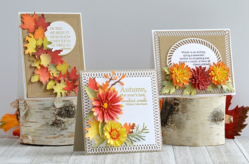 Susan's Autumn Flora Collection – A Trio of Autumn Cards with Annie Williams