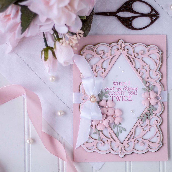 February 2021 Amazing Paper Grace Die of the Month is Here – Bella Diamante