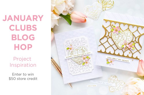 January 2021 Clubs Inspiration Blog Hop + Giveaways