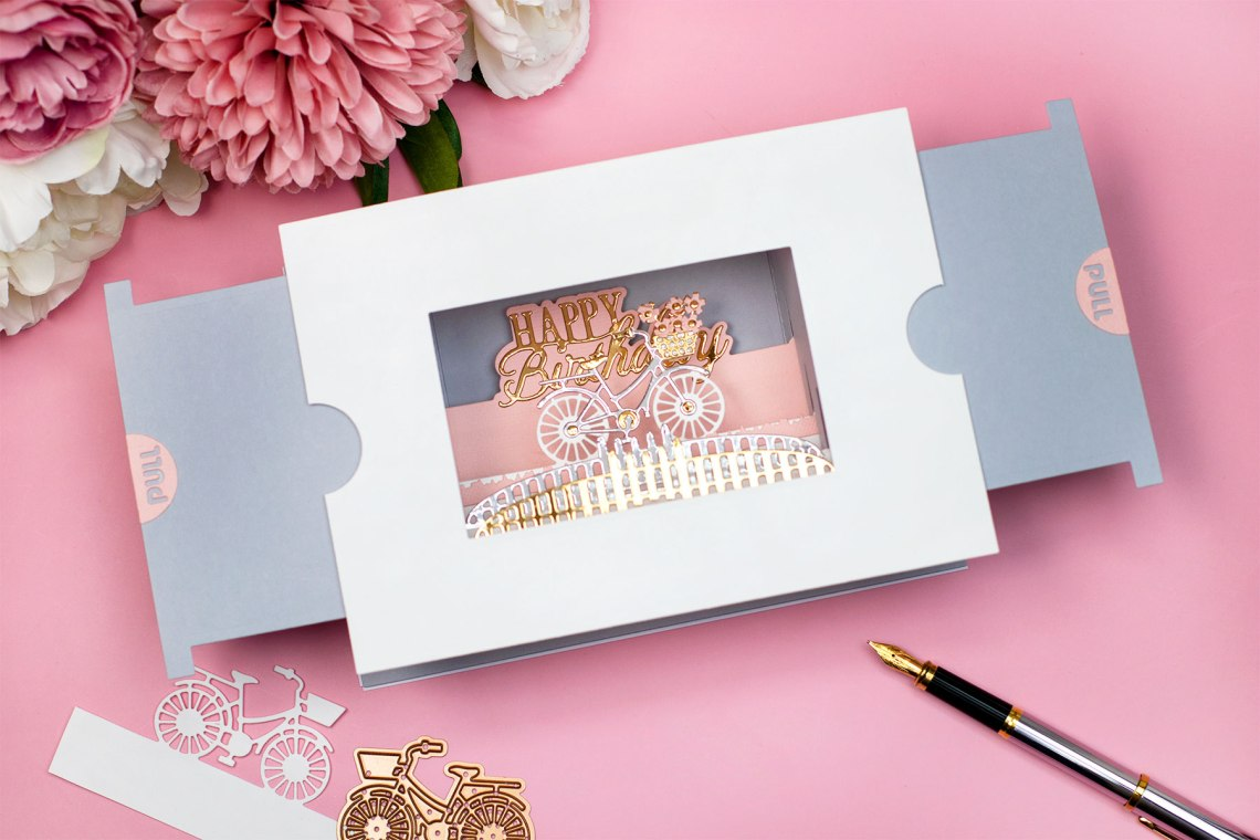 Make a Scene Card Making Ideas with Bibi Cameron