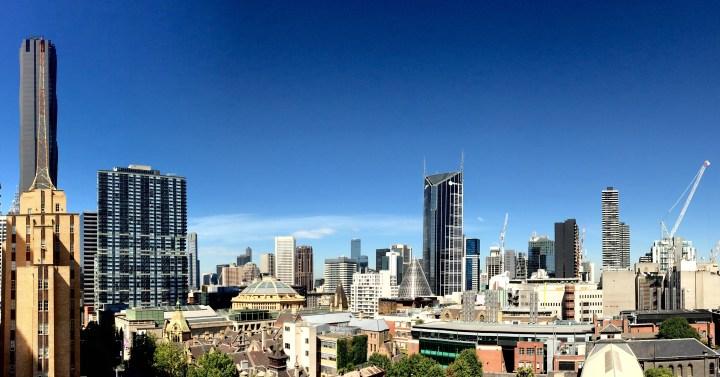 Running through Melbourne alone