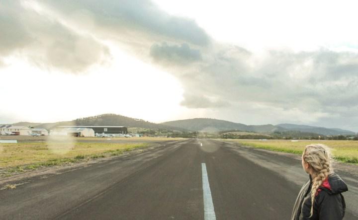 Dreaming of elsewhere Tasmania