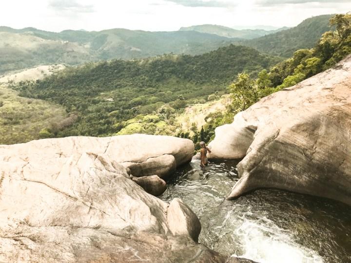 Dreaming of elsewhere diyaluma falls sri lanka