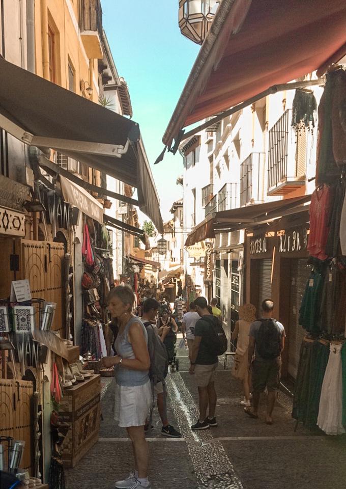 spellbound travels market in granada spain