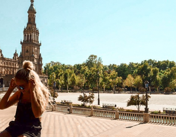 spellbound travels plaza de espana seville