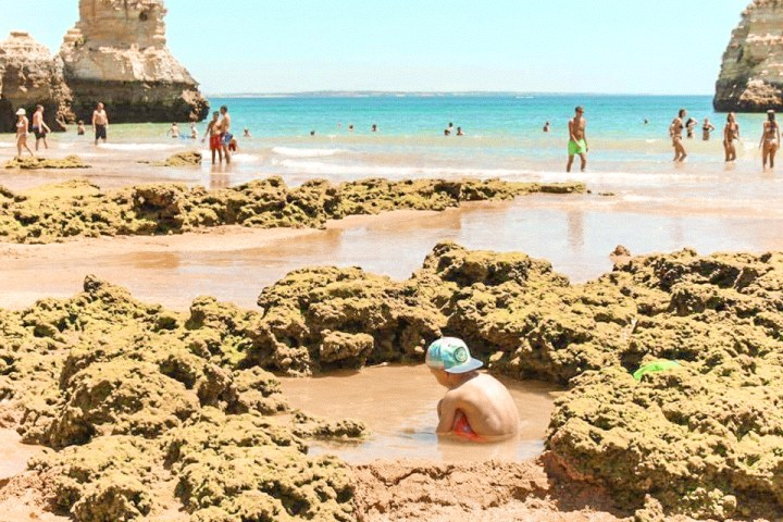 spellbound travels lagos beach portugal