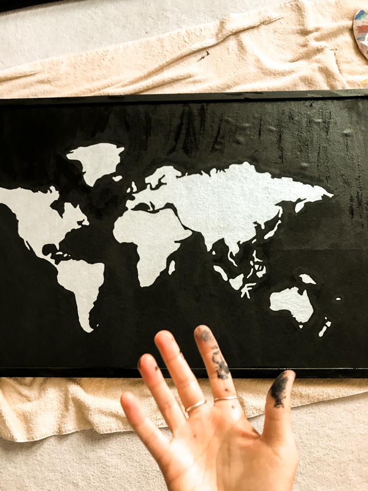 spellbound travels world map craft