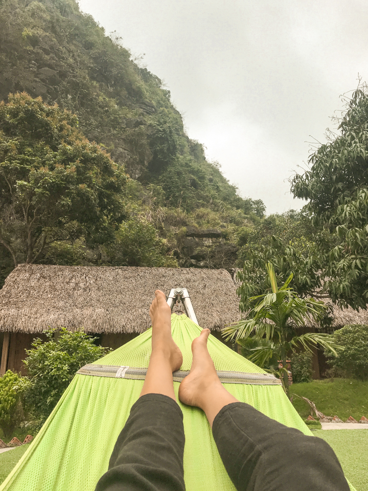 spellbound travels ninh binh hammock