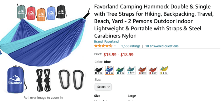 spellbound travels travel hammock amazon