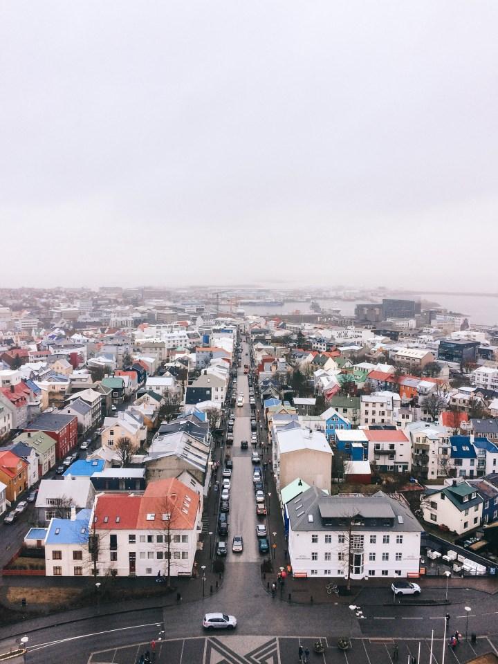spellbound travels reykjavik iceland view