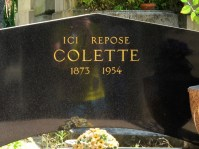 Grave of Colette in Père Lachaise