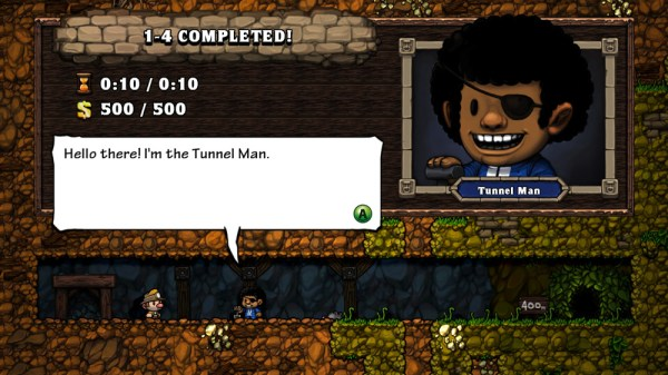 Spelunky's Tunnel Man