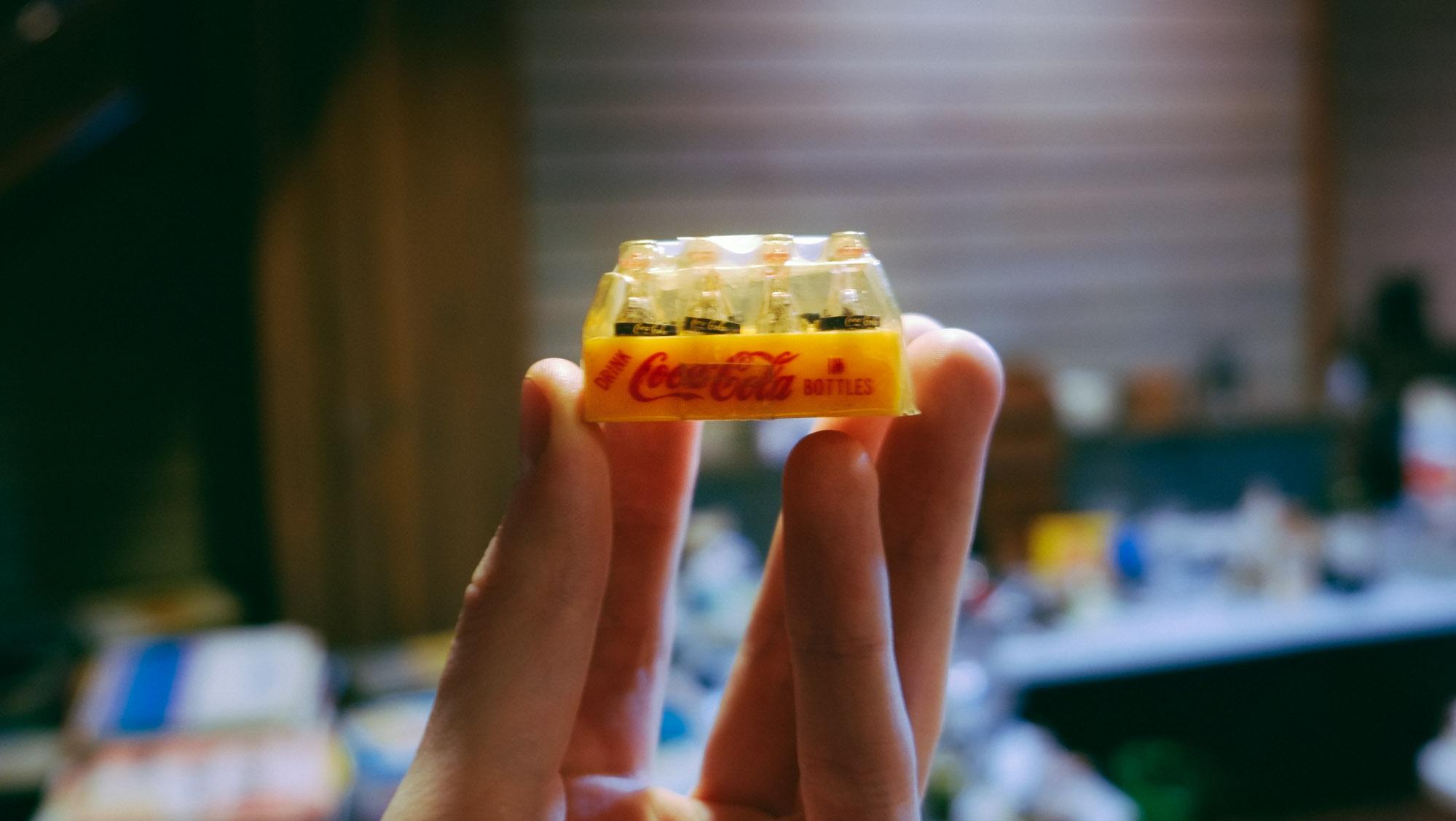 Tiny Coke Bottles