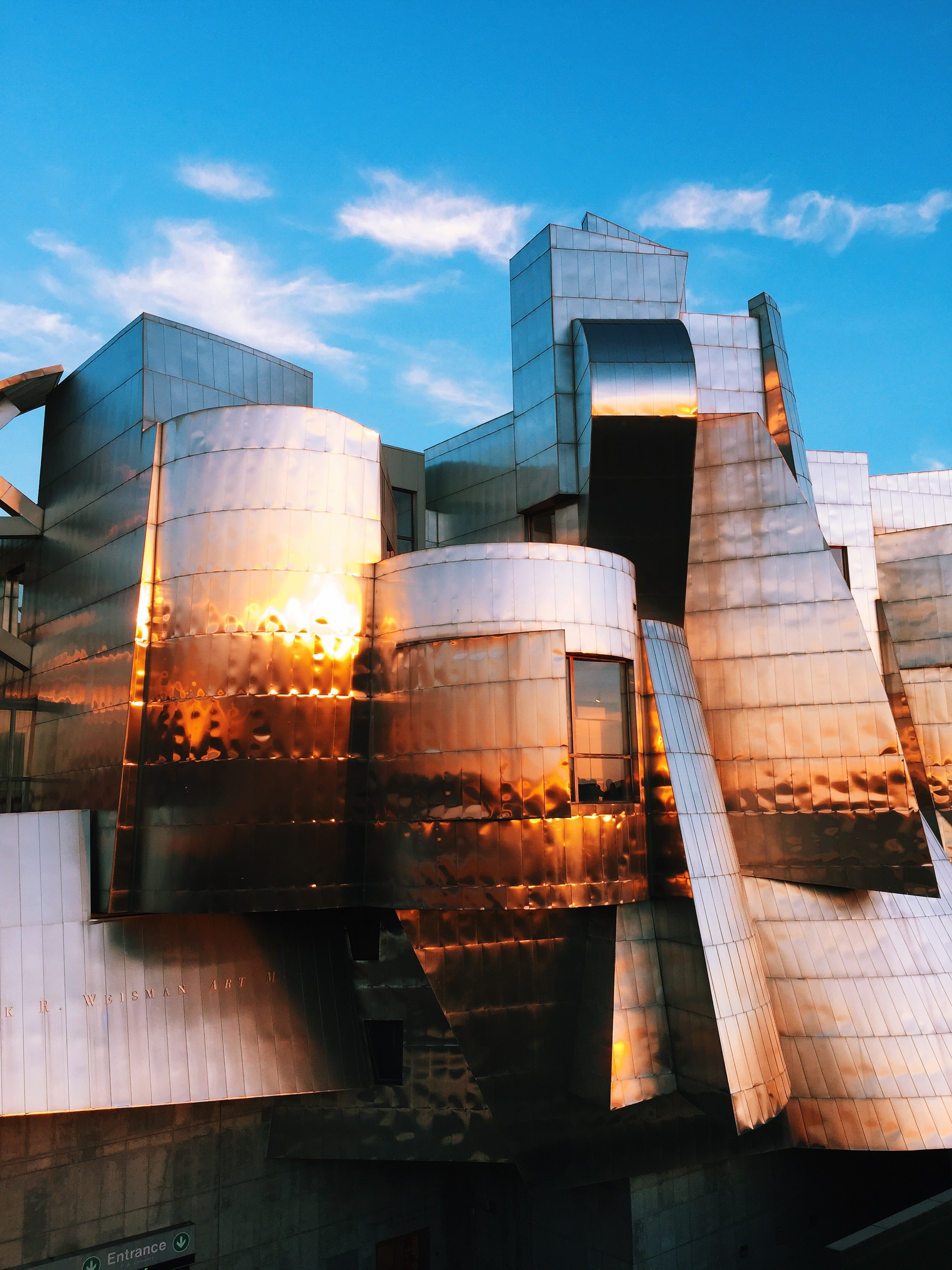 A Frank Gehry at the University of Minnesota