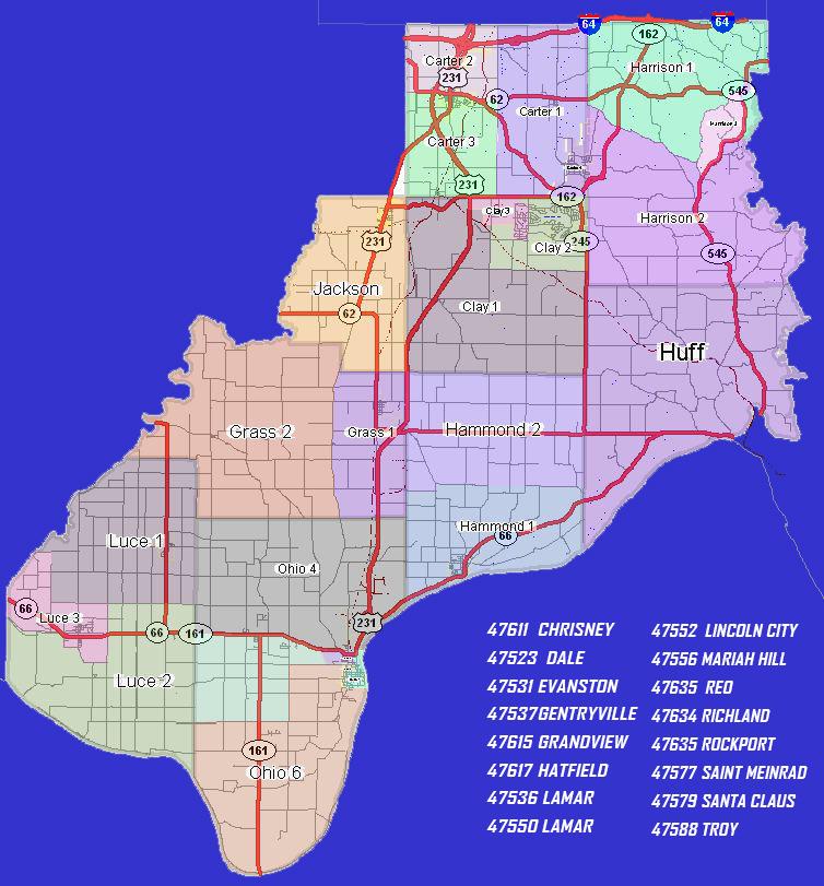 Precinct Info Spencer County Gop