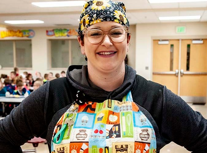 Highlight Series, featuring Luce Elementary School's Head Chef Maggie Caudill