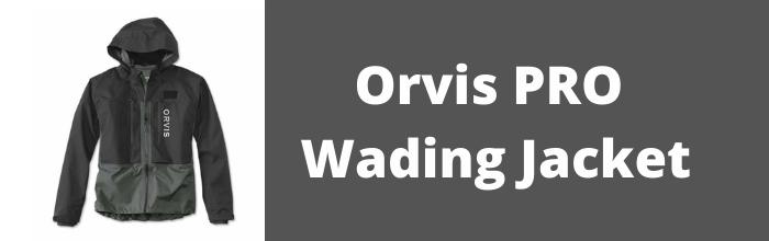pro wading jacket ad