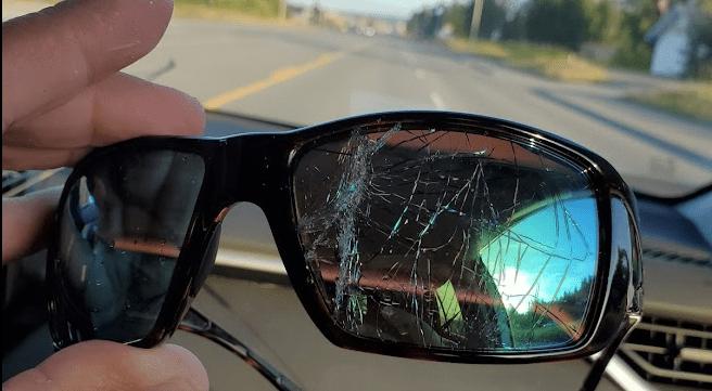 smith sunglasses cracked