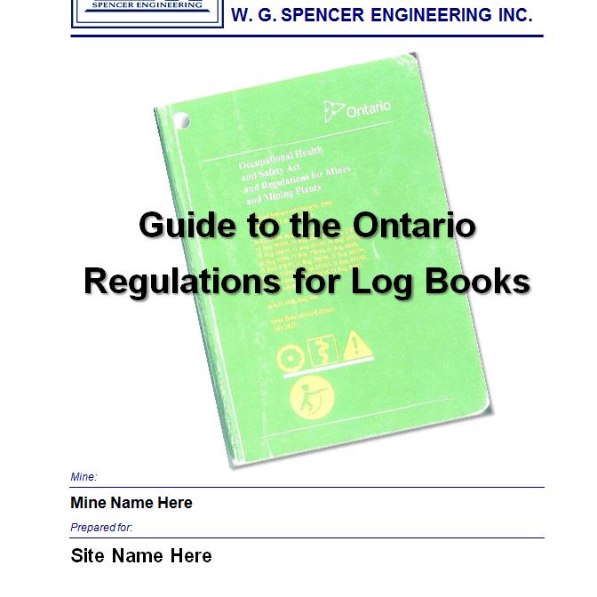 Mine hoist log book training