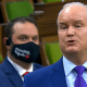 House Of Commons Speaker Rules Conservative MPs Can't Wear Masks With Pro Oil & Gas Message
