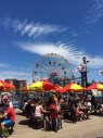 View from the boardwalk, Coney Island