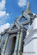 A temple within the grounds of the Grand Palace, Bangkok