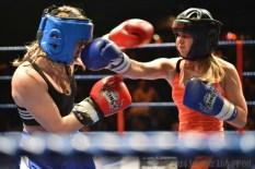 Jasmine Condon (Blue) vs Lauren Steark (Red)