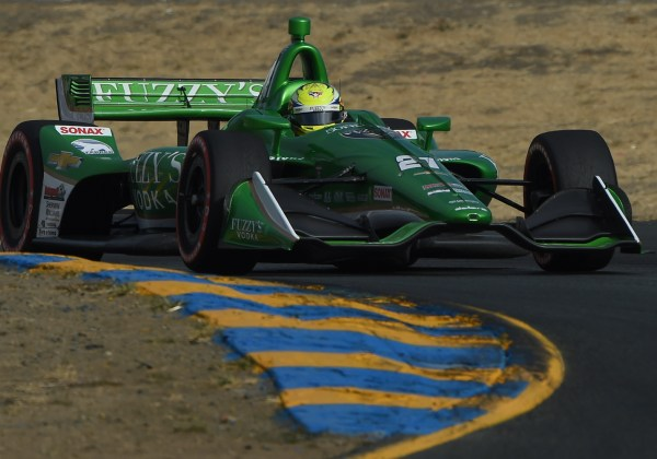 Gearbox Issue Brings Pigot's 2018 IndyCar Season to an Early Conclusion