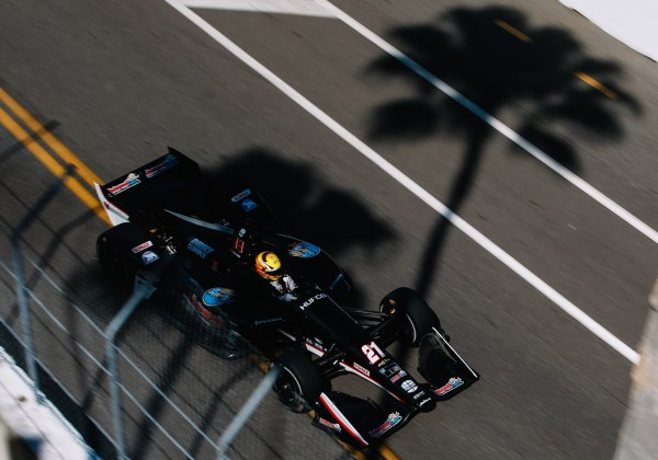 Pigot Fights Back to 11th Place Finish in Season Opener
