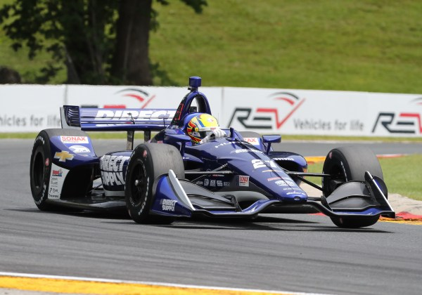 Pigot Fights Through To The Checkered Flag at Road America