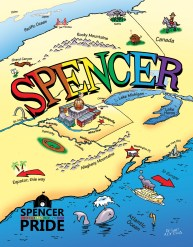 Spencer Coloring Book now available exclusively at Unity!