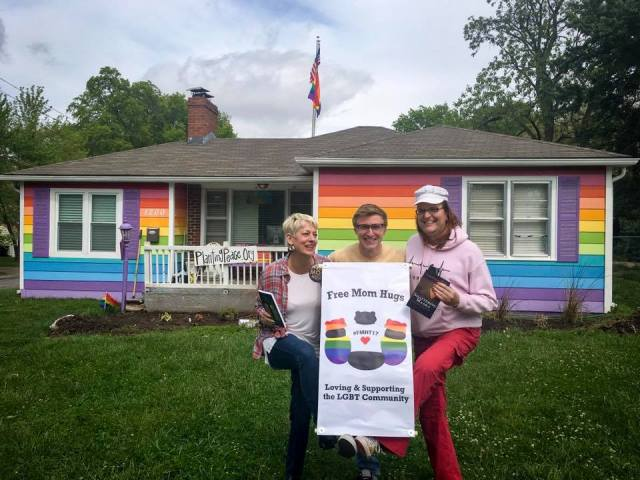 Sara & Laura stopped at the Equality House in the first part of their tour, which launched from Oklahoma City on May 1st