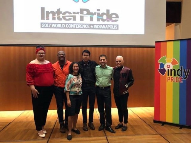 Pictured here, from left to right: Sylvia Thomas, Kevin Calhoun, Michele Irimia-Bernabe, Emmanuel Temores, Jonathan Balash, & Myranda Warden.