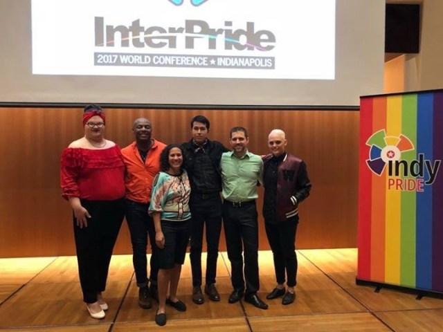 Pictured here, from left to right: Sylvia Thomas, Kevin Calhoun, Michele Irimia-Bernabe, Emmanuel Temores, Jonathan Balash, & Myranda Warden.