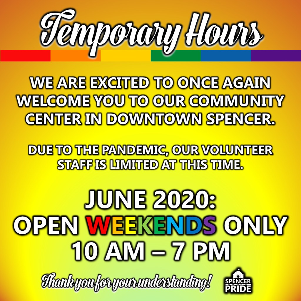 Temporary June Hours