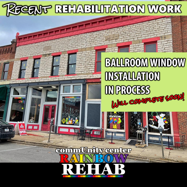 Ballroom Window Update