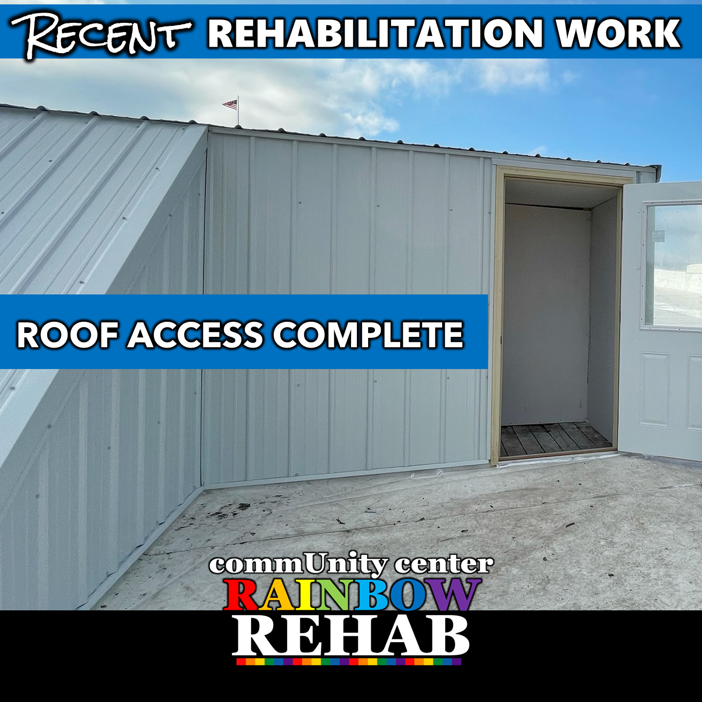 Update - Roof Access Complete