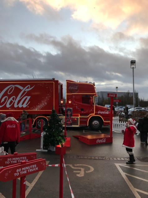 Coca-Cola Lorry