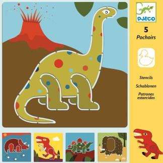 Djeco Stencils – Dinosaurs