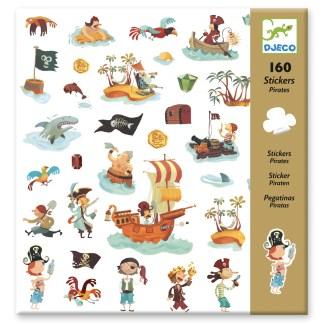 Djeco Stickers – Pirates