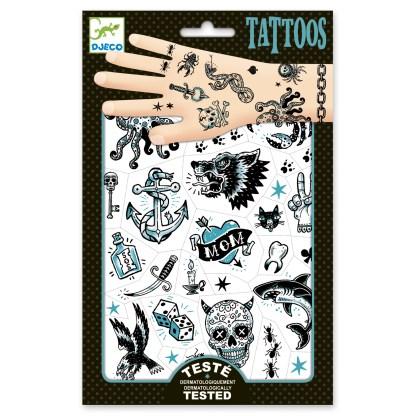 Djeco Tattoos – Dark Side