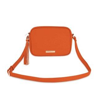 Katie Loxton Sophia Tassel Crossbody Bag – Burnt Orange