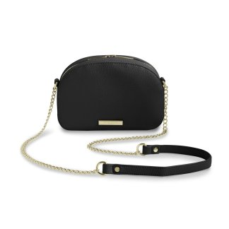 Katie Loxton Half Moon Bag – Black