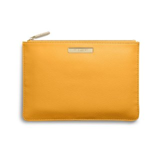 Katie Loxton Soft Pebble Perfect Pouch – Ochre
