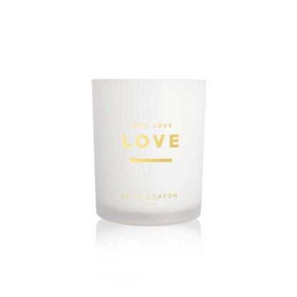 Katie Loxton Sentiment Candle – Love Love Love